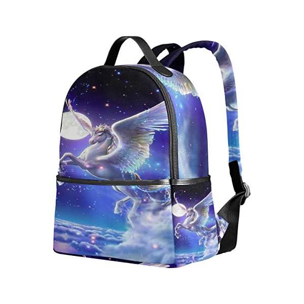 Unicorno zaino per donne adolescenti ragazze borsa moda borsa libreria bambini viaggio università casual zaino ragazzo… 2 spesavip