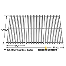 Stainless Steel Cooking Grid For Master Chef G43216, S482, 199-4758-2, 199-4759-0, 85-3024-4, 85-3025-2, 85-3064-8, 85-3065-6, 85-3100-2,Gas Grill Models, Set of 3