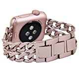 No1seller Stainless Steel Apple Watch Band for Series 1,...