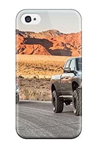 (iZJeFeO2108kxXvz)durable Protection Case Cover For Iphone 4/4s(dodge Ram 3)