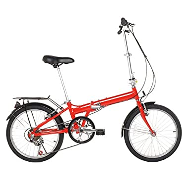 20  Lightweight Aluminum Folding Bike Foldable Bicycle