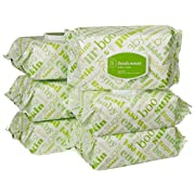 Amazon Elements Baby Wipes, Sensitive, 720 Count, Resealable Packs with Tub