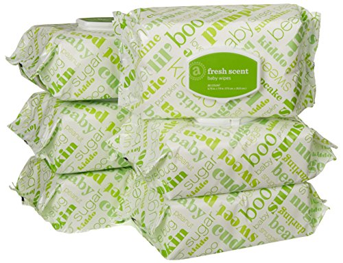 Amazon Elements Baby Wipes, Fresh Scent, 480 Count, Flip-Top Packs by Amazon Elements (Image #9)