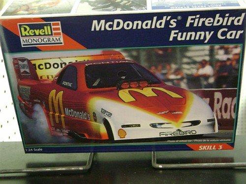 (#7636 Revell Cruz Pedregon McDonalds Firebird Funny Car 1/24 Scale Plastic Model Kit)