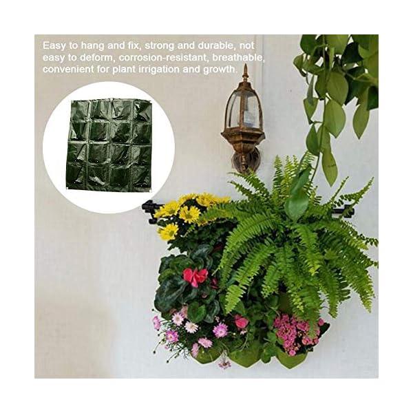 Tasche per Coltivazione, Tasche per Piante, Orto da Parete Verticale Giardino Vivente Beauty Planting Bag Colture per… 2 spesavip