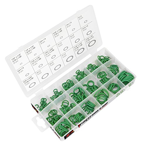 - Performance Tool W5201 270 Pc HNBR O-Ring Assortment