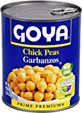 Goya Foods Chick Peas, 29-Ounce (Pack of 12)