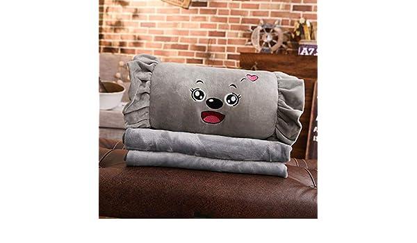 BAONZEN Oficina acolchado edredón almohadas de doble uso ...