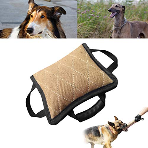 Dog Bite Sleeves Tugs with 3handle for Young Dogs Work Dog Puppy Training Playing Fit Pit Bull German Shepherd Mastiff
