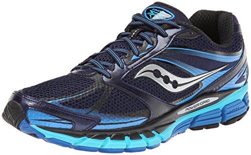Saucony Running PowerGrid Guide 8, Sneaker Uomo Blu Navy/Verde Acqua