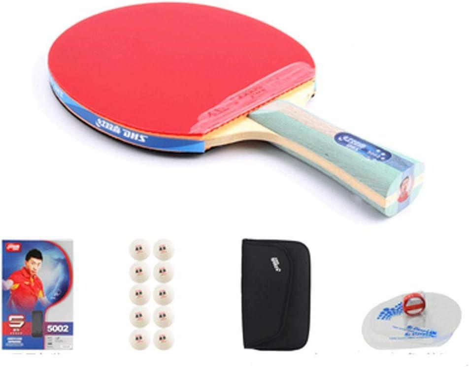 ZHIC 卓球ラケット、屋外スポーツやフィットネスラケットに適している、1水平ショット(10ボール+バッグを与える) Good partner to accompany 5 star horizontal shot