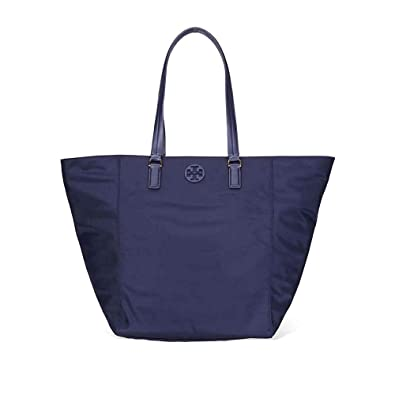 472c4533ac4 Image Unavailable. Image not available for. Color  Tory Burch Women s Tilda  Navy Blue Nylon Tote Handbag