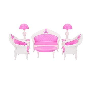 Amazon.es: Muebles de casa de muñecas, mesa de extremo de ...