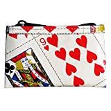 Zipper coin purse made from playing cards - PRIME, Play card bridge poker player players las vegas casino solitaire magician magicians tricks upcycled smart person inspirational cool fun