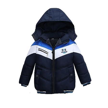 920b1d8ba Amazon.com  Kintaz Fashion Kids Coat Boys Warm Winter Thick Coat ...