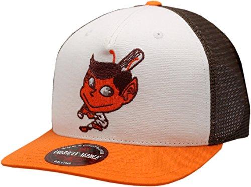 St. Louis Browns Hat Flat Bill Gatekeeper Trucker Mesh - Louis Browns Baseball
