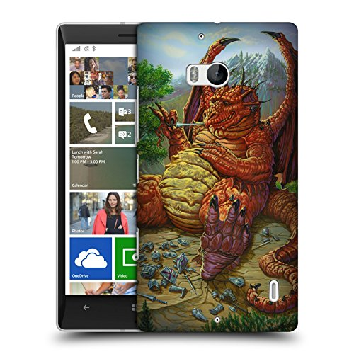 Official Ed Beard Jr Lunch With A Toothpick Dragons Hard Back Case for Nokia Lumia Icon / 929 / 930