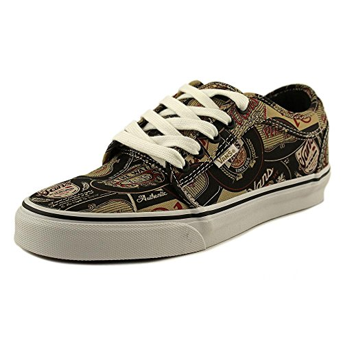 f51977ebc20 best Vans Chukka Low Mens Black Canvas Lace Up Sneakers Shoes 7.5 ...