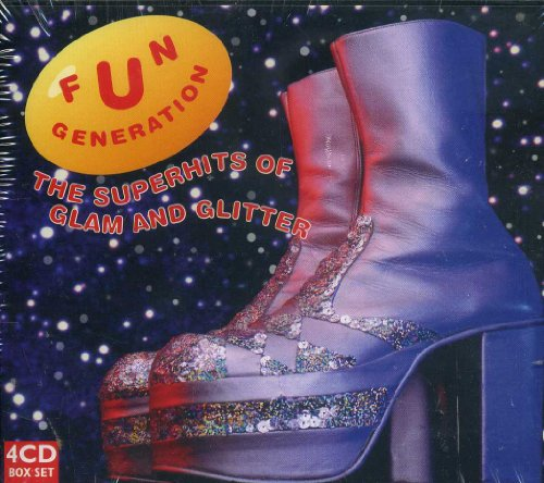 Disc Glitter - Fun Generation - The Superhits of Glam and Glitter [4 Discs Box] [Import]
