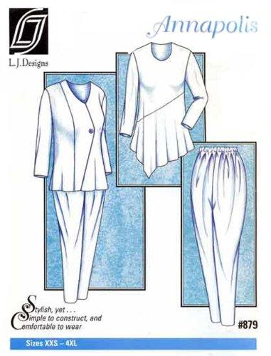 Patterns - L.J. Designs #879, - Stores Annapolis