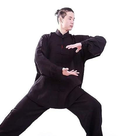 fwadu Tai Chi Traje Mujer Maschi Transpirable Estilo Chino ...
