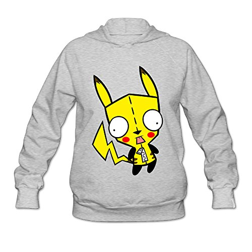 DVPHQ Women's Custom Invader Zim Gir Cartoon Hoodie Size XXL (Invader Zim And Gir Costumes)