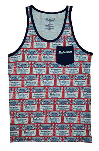 Budweiser All Over Graphic Mens Pocket