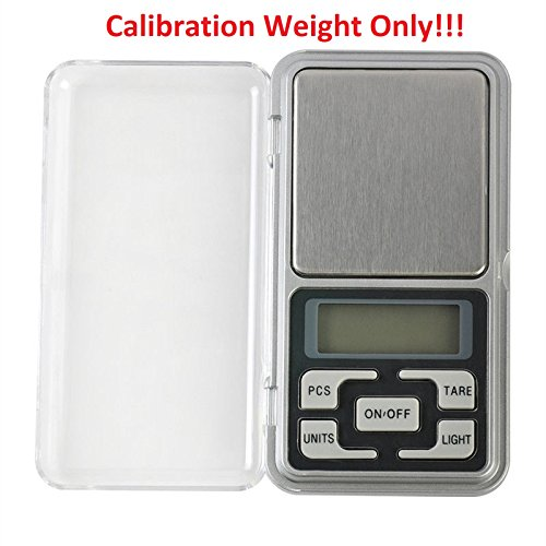 Hot Sale! Pocket Digital Jewelry Scale Weight 500g x 0.1g 0.01g Balance Electronic Gram (Only 10g. Calibration Weight)