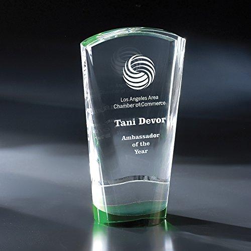 Custom Crystal Etched Award, 8