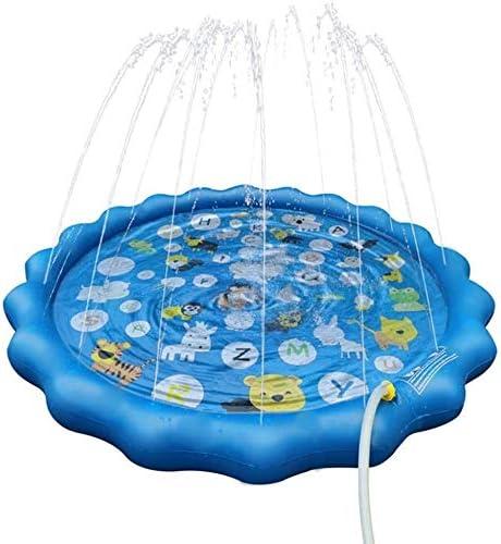 Plataforma de splash Splash Pad Piscina for niños Juego de agua Mat juguetes al aire libre