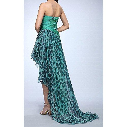 bei Damen Cocktail Festamo Kleid Grün Ital Für Design vRIdt7wqx