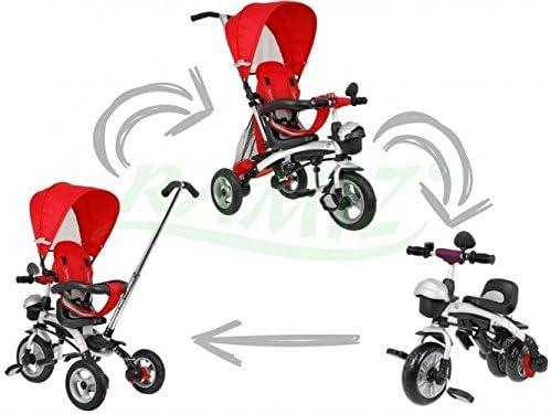 SporTrike Explorer Air 3In1 Triciclo evolutivo para niño - Rojo