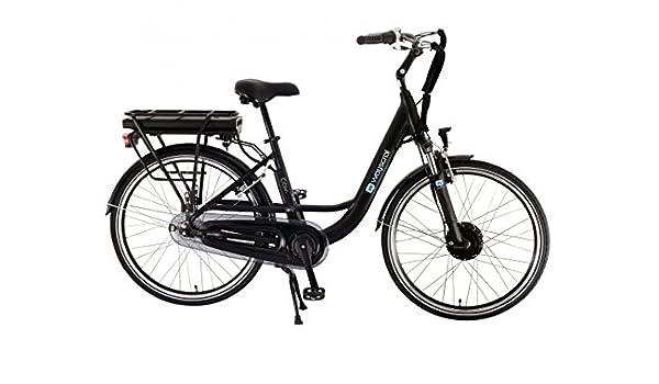Wayscral City 520 Bicicleta eléctrica (36 V), negro: Amazon.es ...