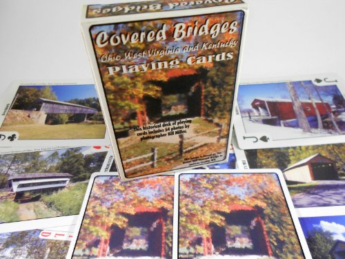 Covered Bridges of Ohio, Kentucky and West Virginia - Souvenir Playing Cards (Wv Souvenirs)