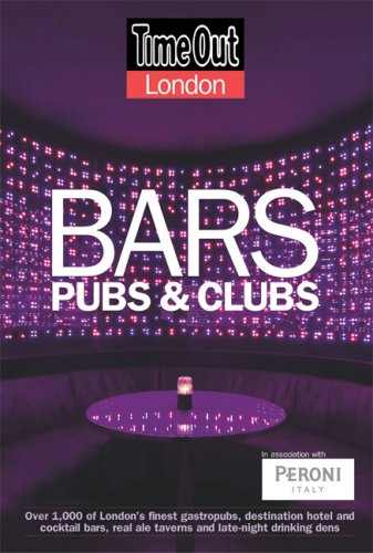 Time Out London Bars, Pubs & Clubs, 2007/08 (Time Out Guides)
