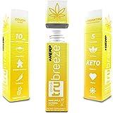 Tru Breeze Drink - Natural Keto Relaxation Supplement Plus Hemp - Flavored Pineapple Express (12)