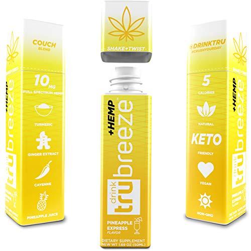 51D6Dbq95TL - Tru Breeze Drink - Natural Keto Relaxation Supplement Plus Hemp - Flavored Pineapple Express (4)