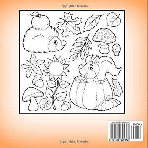 Fall: Kids Coloring Book (Basic Coloring Books-Seasons Series-Fall ...