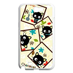 Custom Your Own Personalized Cute Kitten Cat Samsung Galaxy Note 2 N7100 Case, Snap On Hard Protective Chococat Galaxy Note 2 Case Cover