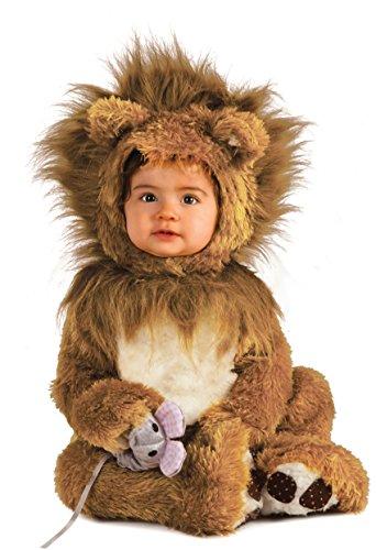 rubies-costume-co-unisex-baby-infant-noah-ark-lion-cub-romper-brown-beige-0-6-months