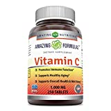 Cheap Amazing Formulas Vitamin C 1000 Mg, Tablets – Non GMO, Vegan – Promotes Immune Function* – Supports Healthy Aging* – Supports Overall Health & Well-Being* (250 Count)
