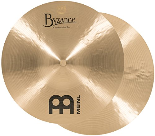 Meinl Cymbals B10MH Byzance 10-Inch Traditional Mini Hi-Hat Cymbal Pair (VIDEO) ()