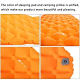MOON LENCE Sleeping Pad with Camping Pillow for