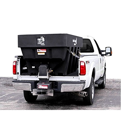SaltDogg SHPE2000 Electric Truck-Mount Salt Spreader, Black (Spreader Salt Dogg Salt)