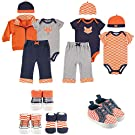 Yoga Sprout Collection Set, Boy Fox, 3-6 Months