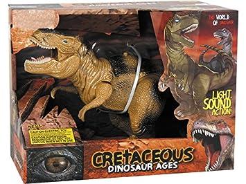 DQTOYS Tiranosaurio Andador 32 cm.: Amazon.es: Juguetes y juegos
