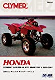 Honda TRX400EX Fourtrax and Sportrax 1999-2005, Clymer Publications Staff, 0892879912
