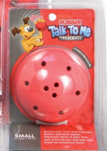 Talk to Me Rubber Treatball - S/M Red