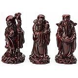 Fuk Luk Sau - Les 3 Dieux de Santé, Richesse Et Bonheur