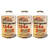 (US) A/C PRO (HYB-134A) R134a Refrigerant Refill - 10 oz. 3 Cans